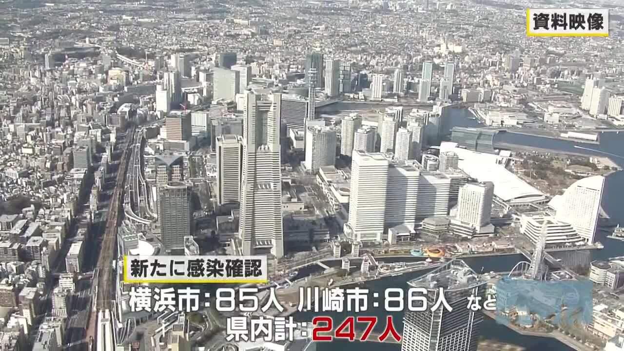 神奈川で247人感染 宣言解除後で最多