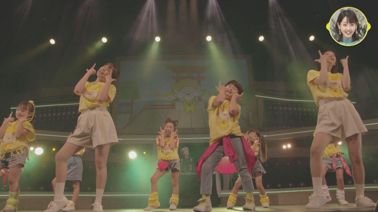 レモンチダンス  日本最大級ダンスステージに出演