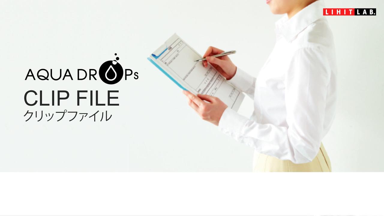 クリップファイルA4  F-5067