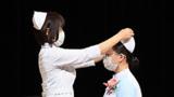 看護の道へ新たな決意 帯広の専門学校で2年生25人が戴帽式