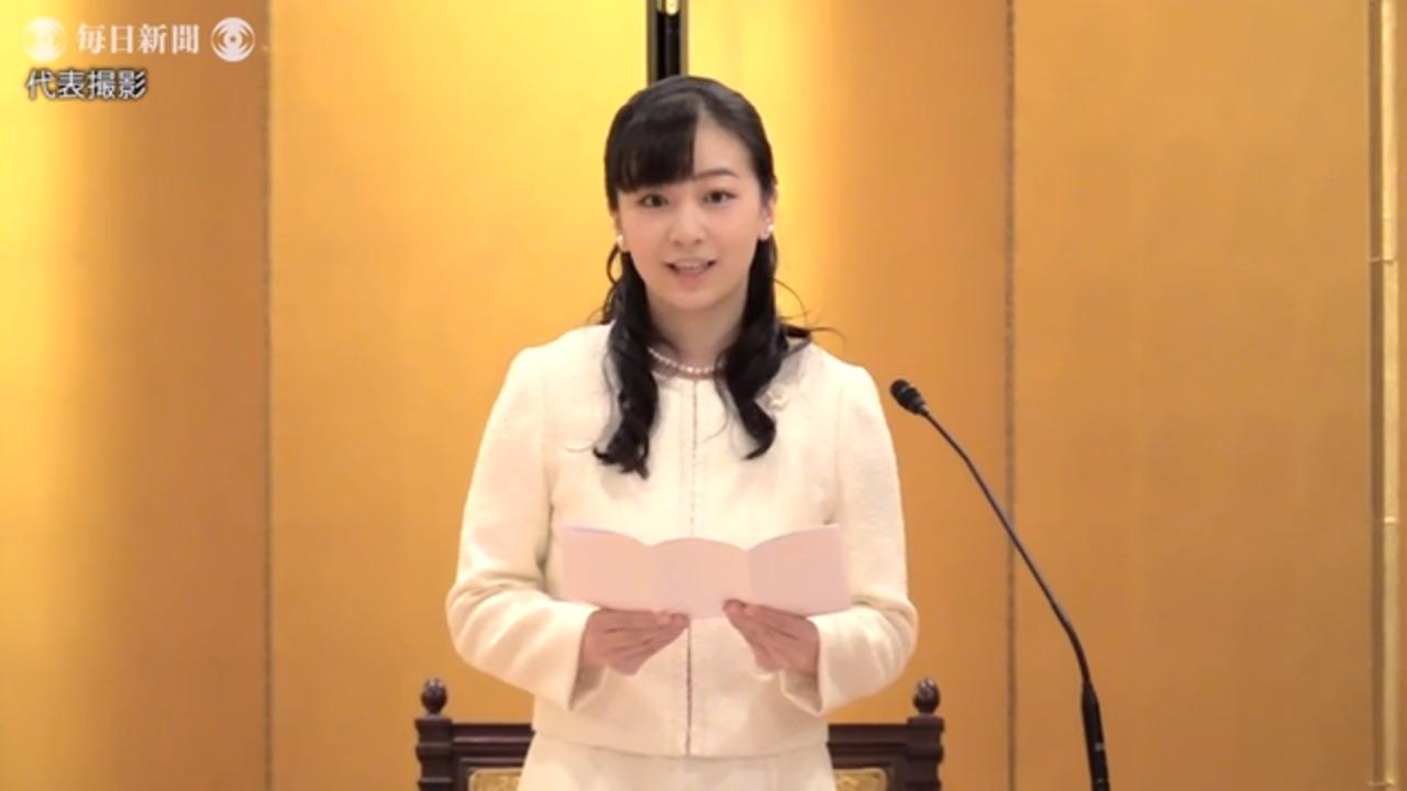 佳子さま、児童出版賞の式典に 飯舘村記録の絵本に感想 - 毎日動画