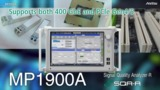 Anritsu MP1900A PCIe Electrical Test Overview