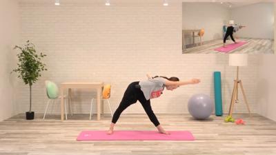 バレエストレッチ 柔軟運動
