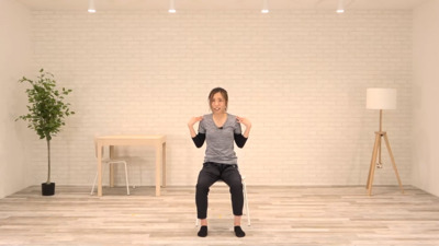 【サンプル動画】低強度(高齢者向け)